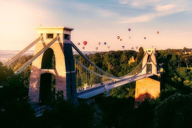 1 Bristol Clifton Suspension bridge