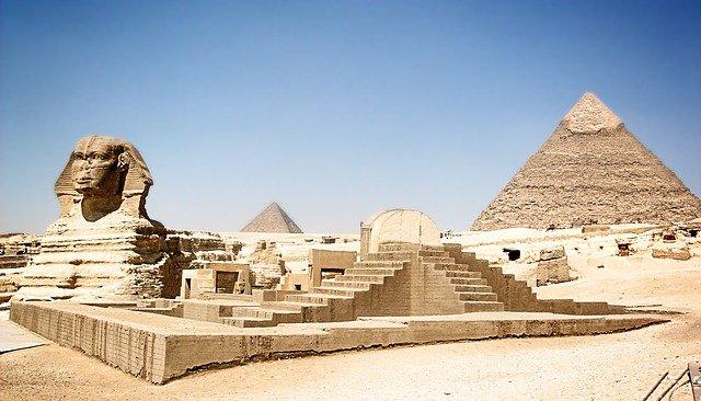 1 Pyramids Giza Egypt