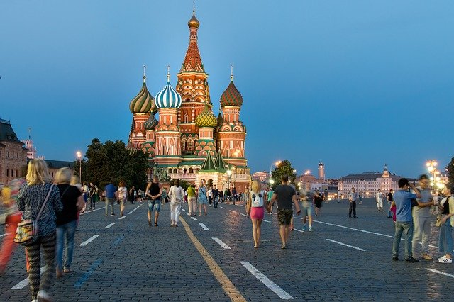 1 The Red Square Moscow Russia