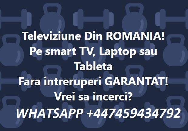 Ofer Canale TV Romanesti pe ,SMART TV, FIRESTICK AMAZON, ANDROID BOX, TELEFON ANDROID,LAPTOP,WINDOWS 10!