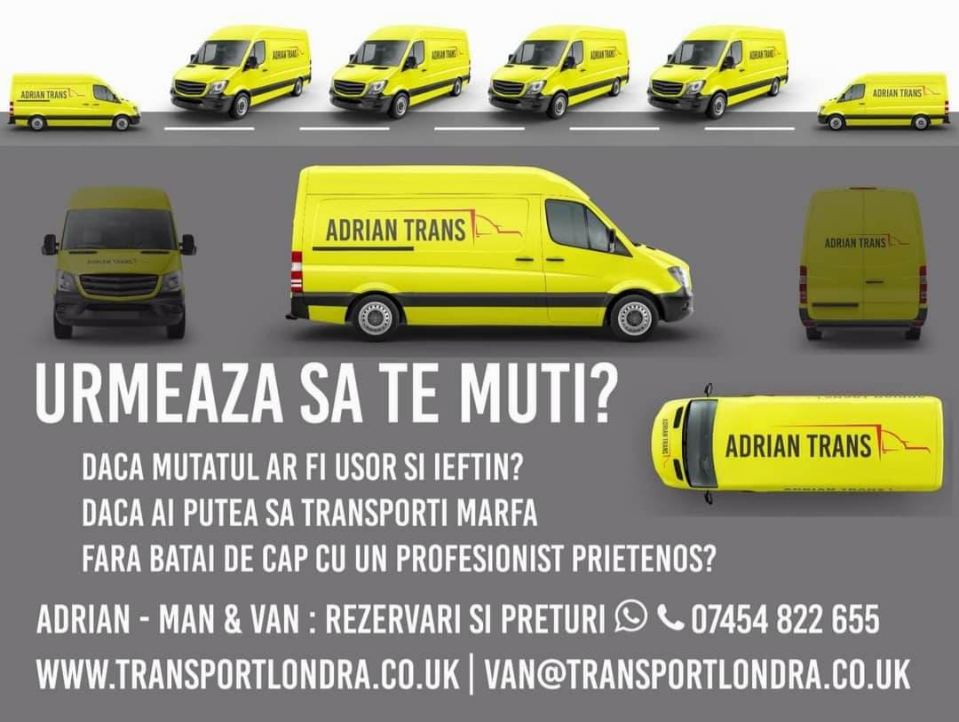 Transport cu Van - mutat usor si ieftin