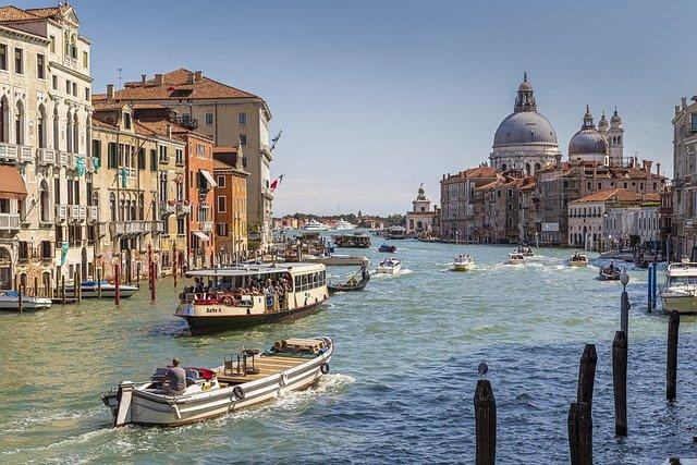 5 Grand Canal Venice Italy
