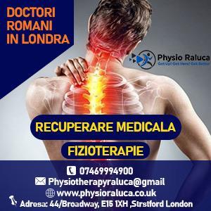 DOCTORI ROMANI IN LONDRA /FIZIOTERAPIE