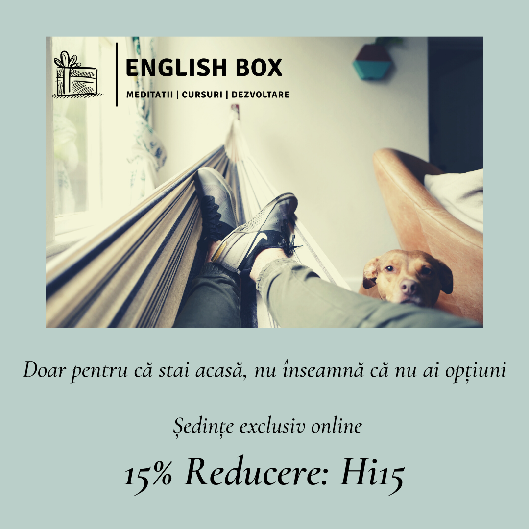 Cursuri online de limba engleză