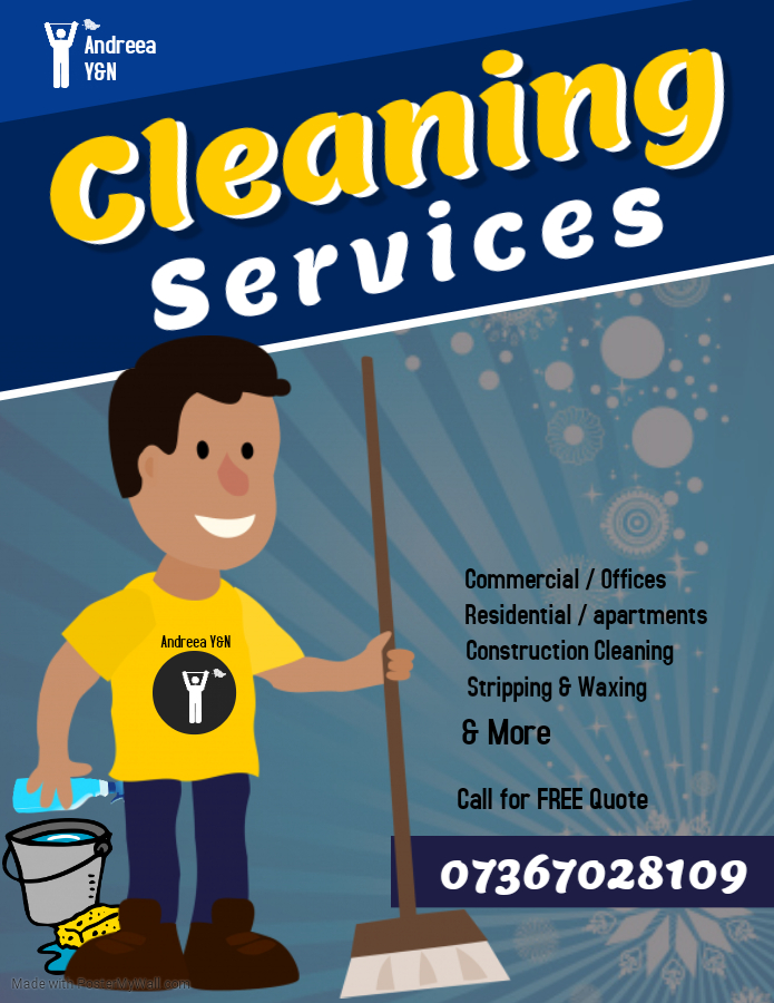 Copy of CLEANING SERVICE FLYER – Made with PosterMyWall
