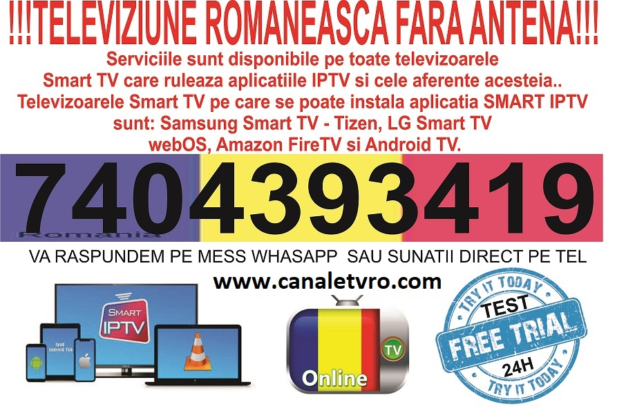 TELEVIZIUNE ROMANEASCA FARA ANTENA