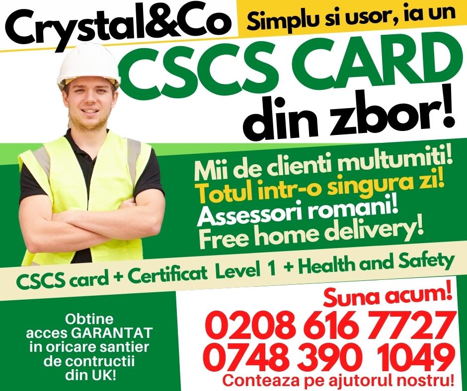 CSCS Card Level 1