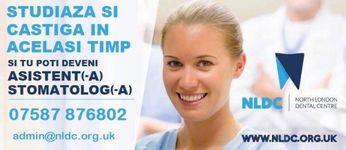 Calificare si job asistent(-a) stomatolog