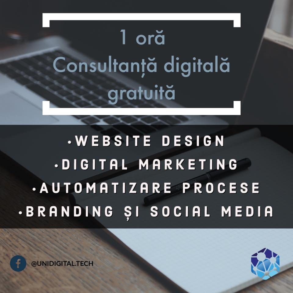 Consultanță digitală gratuită