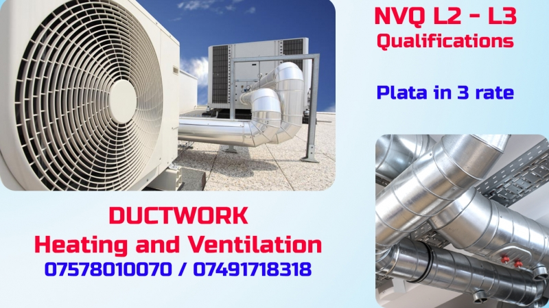 Ductwork NVQ L2 – L3