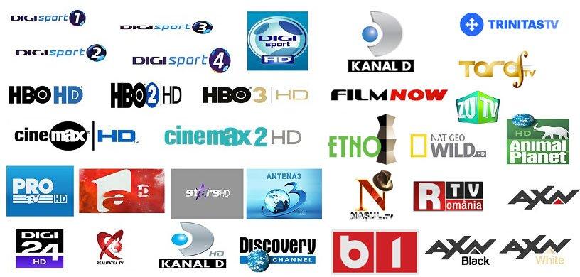 Televiziune IPTV prin internet (fara antena)