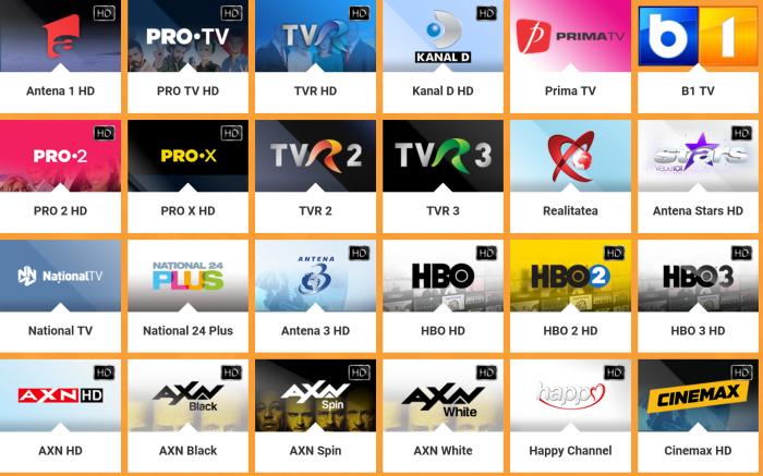 Televiziune online